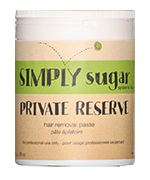 Private Reserve Body Sugar Paste - Simply sugar Private Reserve